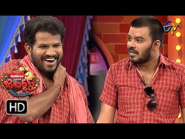 Hyper Aadi, Raising Raju Performance | Jabardasth | 20th September 2018 | ETV  Telugu #1