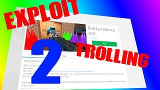 ROBLOX RC7 Exploit trolling 2! [NÍVEL 7] 3/1/2016