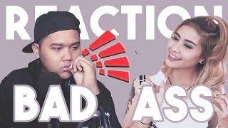 REACTION BAD ASS SAMBIL MAKAN
