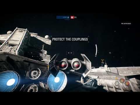 9 Minutes of Star Wars Battlefront 2 Starfighter Assault Gameplay - Gamescom 2017