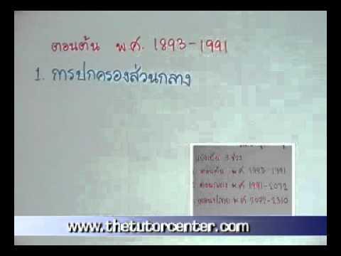 วีซีดีติวเข้ม สังคมศึกษา ม.2 เทอม 2