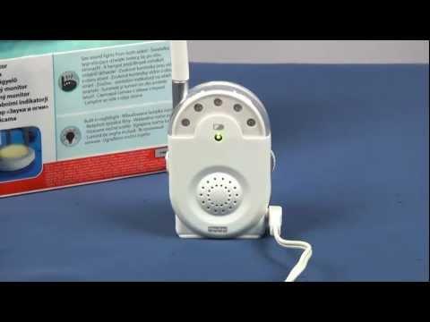 Sounds & Lights Monitor / Niania Elektroniczna - Fisher Price - Mattel - Www.MegaDyskont.pl