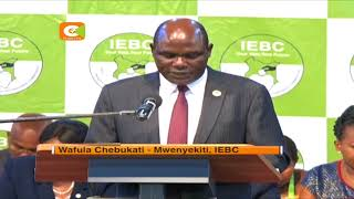 IEBC yachapisha ushindi wa Rais Kenyatta kwenye gazeti la serikali