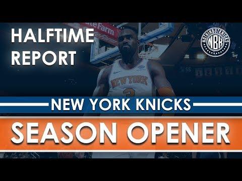 New York Knicks vs Atlanta Hawks Halftime Report LIVE from Madison Square Garden