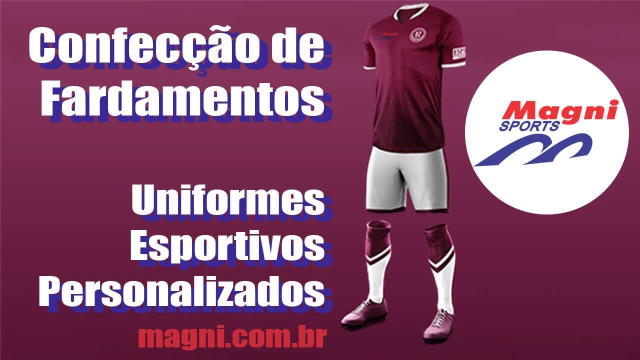 Confecção de Fardamentos e Uniformes Esportivos Personalizados Magni Sports 792f3e25c9d59