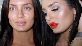 Girls Night Out GRWM: Red Matt Lip and Maxxed Out Highlight!