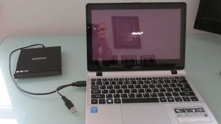 Acer Aspire V11: How to enable USB boot (and run Ubuntu)