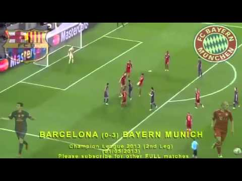 BARCELONA vs BAYERN MUNICH Full Match Champion League