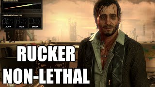 Deus Ex: Mankind Divided - Talos Rucker Debate / Non-Lethal