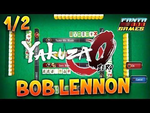LA MEGA-HYPE DU MAHJONG ?!? - L' IRRESPECT avec Bob sur Yakuza 0 (1/2)