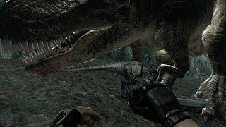 turok glitch death valley map i ve glitched giganotosaurs