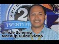 Article Schema Markup Guide Video Courtesy of Search Engine Optimization Philippines FB Group