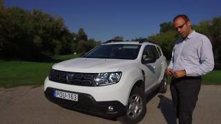 Facebook live archív: Dacia Duster 1.6 SCe 115 live teszt