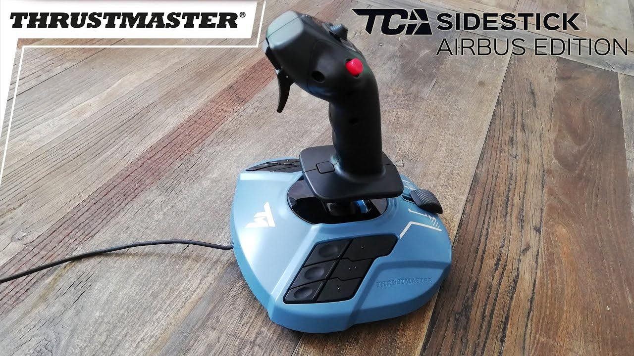 Thrustmaster TCA Sidestick Airbus Edition Unboxing & Review inside X-plane 11