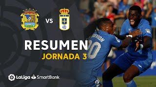 Resumen de CF Fuenlabrada vs Real Oviedo (2-1)