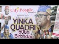Kwam1 Performs At Yinka Quadri's 60th Birthday