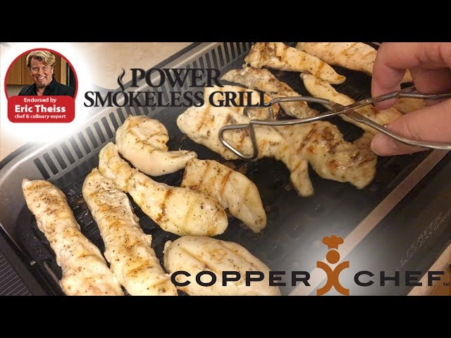 Bacon Ranch Chicken on the Power Smokeless Grill - Nate in the Morning ep 375