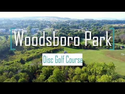 Woodsboro Disc Golf Course Tour