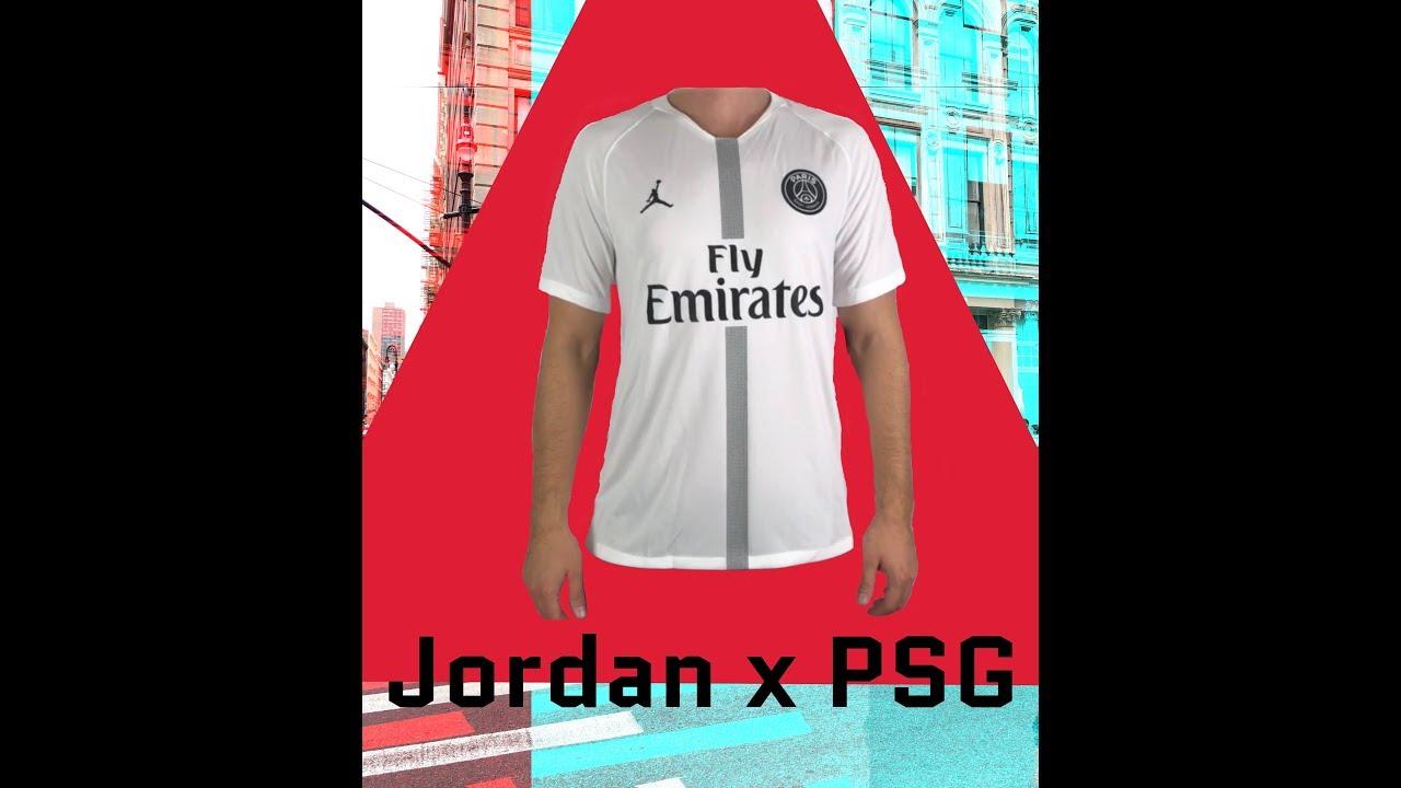 uk availability bf15a 0b110 Jordan x Paris Saint-Germain Stadium 'Champions League Kit Away'    UNPACKING   sports fashion