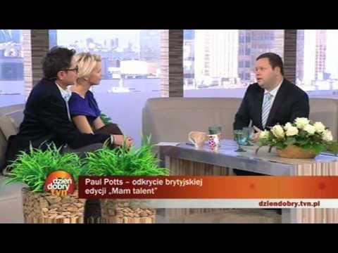 Paul Potts @ Polish TV(1) - interview