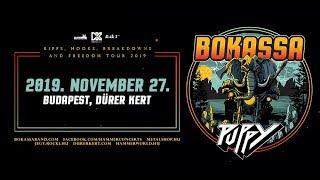 Bokassa - 2019.11.27. zenekari meghívó / band invitation