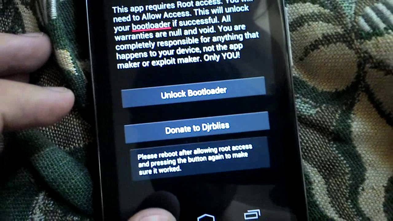 Motorola Atrix HD Razr HD Razr M Bootloader Unlock