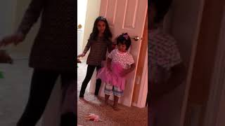 Ayat dressing baby in girl clothes