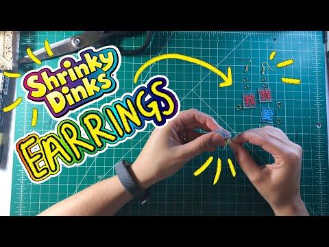 SHRINKY DINKS JEWELRY    DIY    Izzy Sneed
