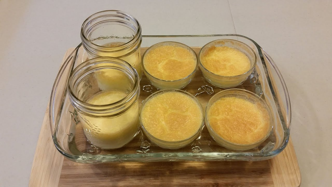 how to make baked custard