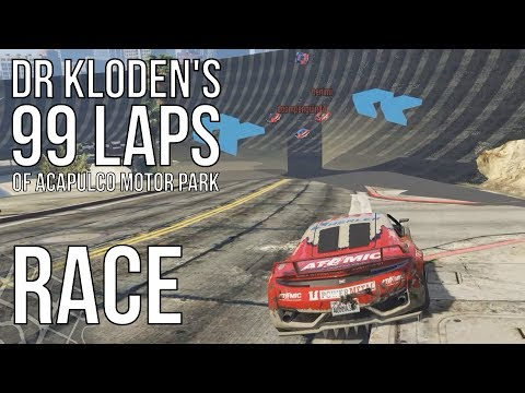 DrKloden's 99 Laps of Acapulco Motor Park | Race | Acapulco Motor Park (24.06.2017)