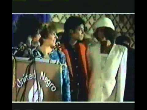 Michael Jackson At The United Negro College Fund (1988)