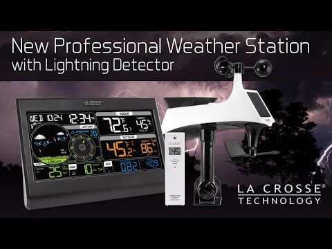 New Professional Weather Station with Lightning Detector