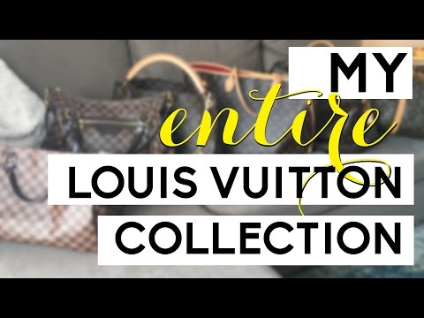 MY ENTIRE LOUIS VUITTON COLLECTION | LV Bags, SLG's, and Accessories