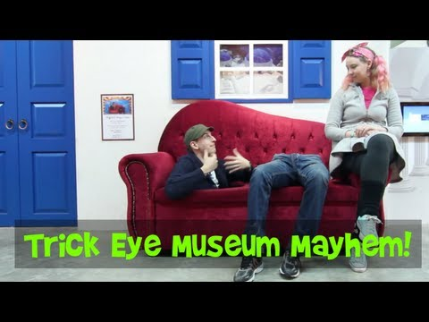 Adventures in the Trick Eye Museum!