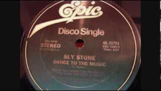 "Sly Stone - ""Dance To The Music (John Luongo Remix)"""