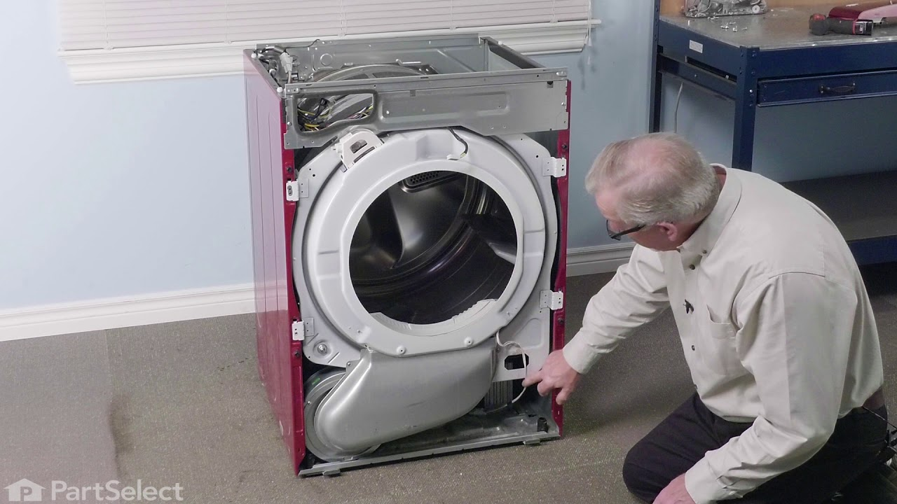 Lg Dryer Repair How To Replace The Drive Motor Part