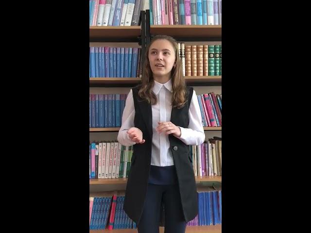 Изображение предпросмотра прочтения – МаргаритаКонищева читает произведение «Твое лицо мне так знакомо» А.А.Блока