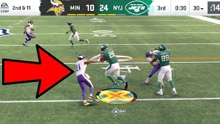 Le'Veon Bell FIRST ONE FREE ACTIVATED! Vikings vs Jets Madden 20 Online Gameplay