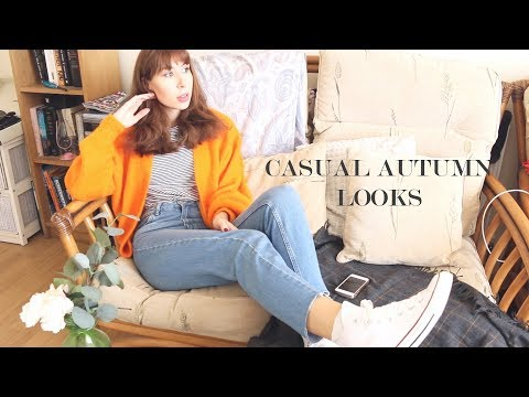THREE CASUAL AUTUMN OUTFITS | Maybe Mollie