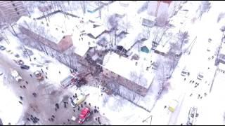 Видео с БЛА  Иваново Минская 63б
