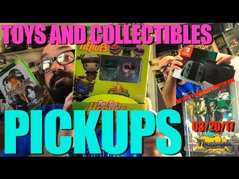 PICKUPS  Retro Video Games, Vintage Toys, Power Rangers, StarWars,  03/22/17