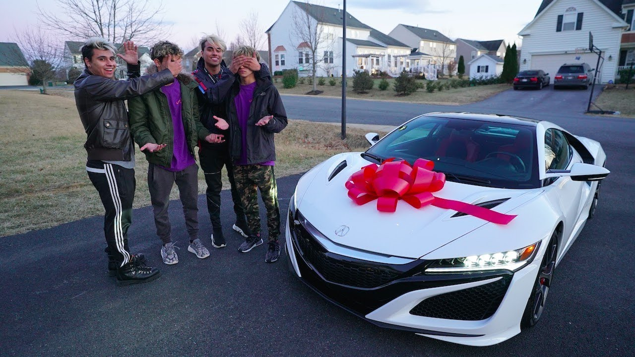 SURPRISING OUR TWIN BROTHERS WITH THEIR DREAM BIRTHDAY GIFT