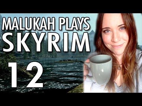 Malukah Plays Skyrim - Ep. 12: Wimpy Dragons and Protecting Vigilance