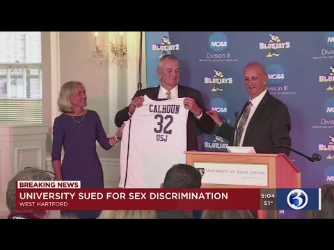 VIDEO: USJ Coach Jim Calhoun named in sex discrimination lawsuit
