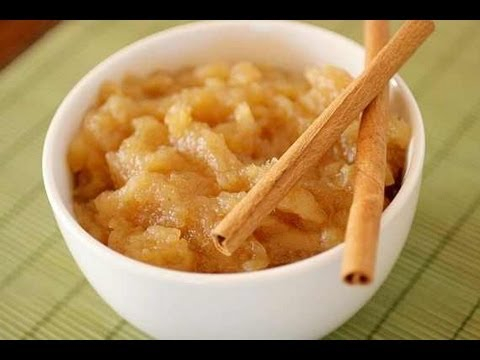 Healthy Homemade Applesauce