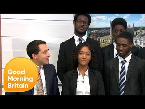 East London State School Secures 41 Oxbridge Offers | Good Morning Britain