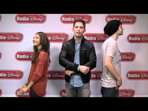 Sarah Hyland & Matt Prokop from Disney Channel's