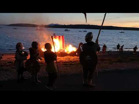 Viking festival Largs 2019