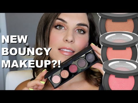 bareMinerals Bounce & Blur Blush + Eyeshadow Palette Review | Bailey B. thumbnail