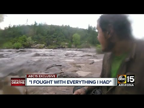 Man caught up in Payson flash flood waters survives after 9 killed